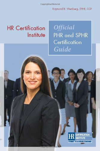 9781586441494: HR Certification Institute Official PHR and SPHR Certification Guide