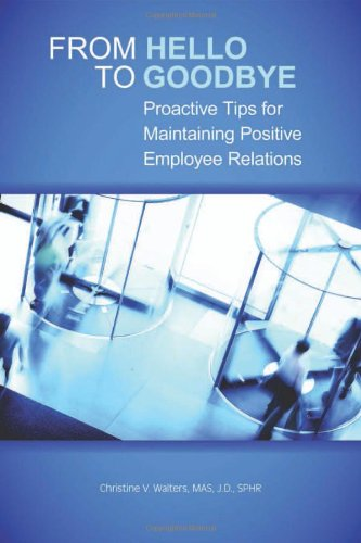 From Hello to Goodbye: Proactive Tips for: Walters MAS JD