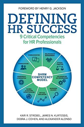 9781586443825: Defining HR Success: 9 Critical Competencies for HR Professionals