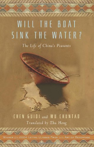 9781586483586: Will the Boat Sink the Water?: The Life of China's Peasants