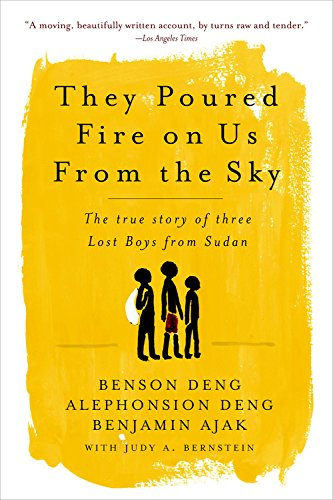 9781586487584: They Poured Fire on Us from the Sky Dig Aud: The True Story of Three Lost Boys from Sudan