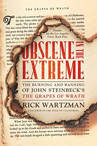 9781586487676: Obscene in the Extreme: The Burning and Banning of John Steinbeck's The Grapes of Wrath