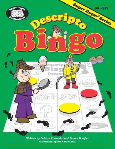 Descripto Bingo: Boegler, Susan