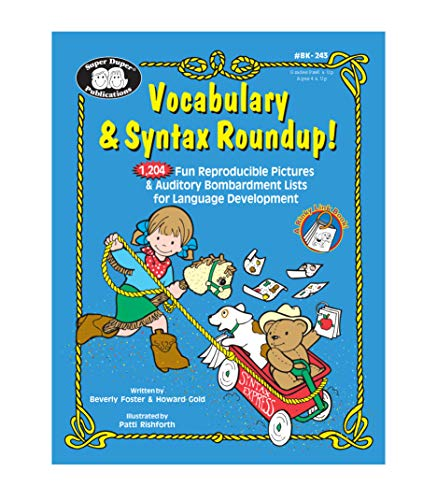 Vocabulary & Syntax Roundup! 1,204 Fun Reproducible: Foster, Beverly; Gold,