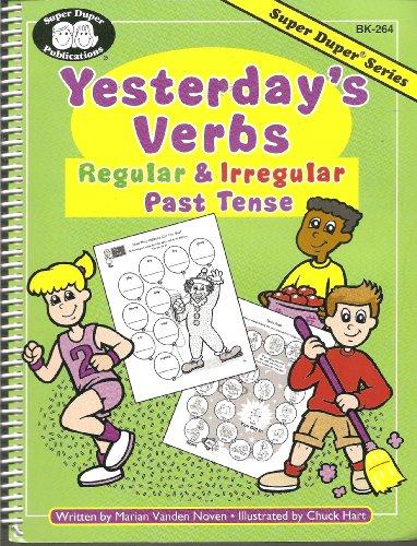 9781586500665: Yesterday's Verbs: Regular & Irregular Past Tense (Super Duper, BK-264)