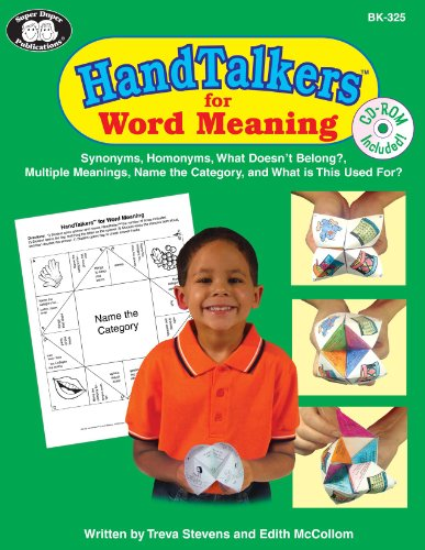 9781586505288: Hand Talkers for Word Meaning (CD-Rom Included)