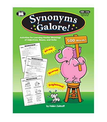 9781586507305: Synonyms Galore! Activities for Learning Similar Meanings of Adjectives, Nouns and Verbs (BK-346)