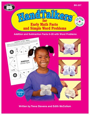 9781586508371: HandTalkers for Early Math Facts and Simple Word Problems with CD-ROM
