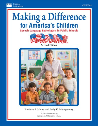 Making A Difference for America's Children: Speech: Ed.D and Judy