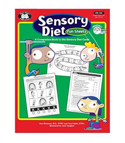 9781586509132: Sensory Diet Fun Activity Sheets: A Companion Book to the Sensory Diet Cards