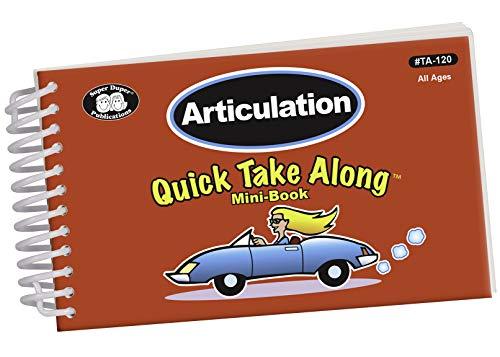 9781586509996: Articulation Quick Take Along Mini-Book