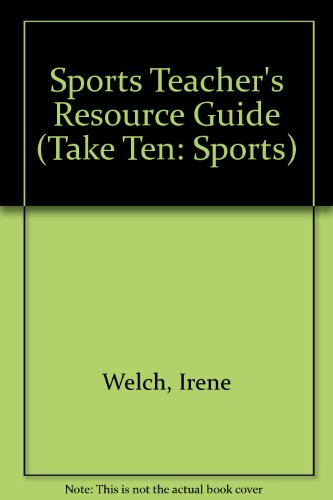 9781586591441: Sports Teacher's Resource Guide (Take Ten: Sports)