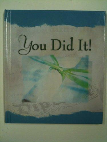You Did It! (1586604228) by Ellyn Sanna