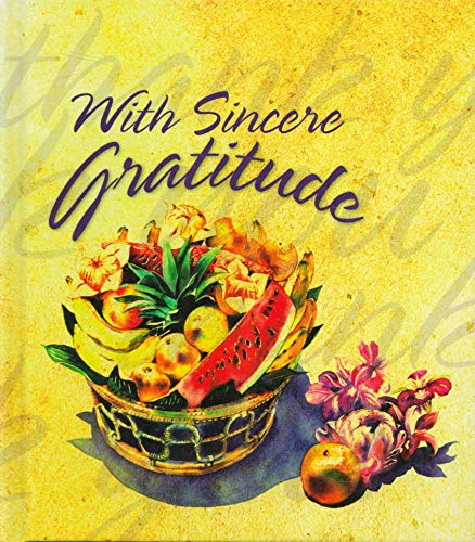 With Sincere Gratitude (9781586604332) by Ellyn Sanna