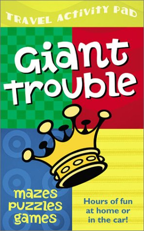 Giant Trouble Travel Activity Pad: Hours of Fun at Home or in the Car: Mark Ammerman