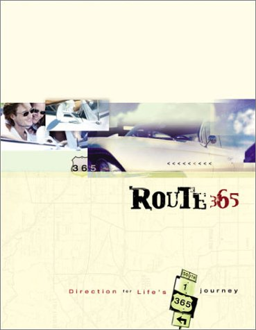 Route 365 Devotional Journal: Direction for Life's Journey (1586608282) by Toni Sortor; Pamela McQuade