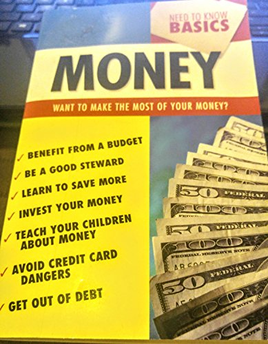 Need to Know Basics--Money (1586609912) by Christopher D. Hudson