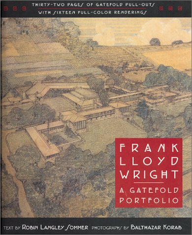 9781586632083: Frank Lloyd Wright: A Gatefold Portfolio