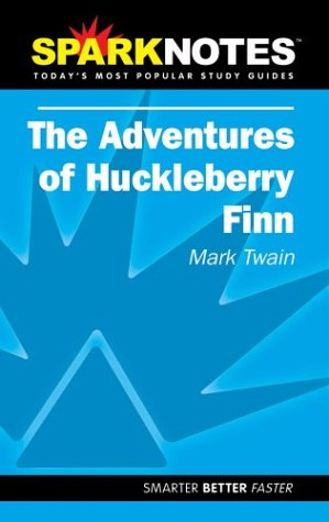 9781586633479: The Adventures of Huckleberry Finn (Sparknotes Literature Guide)