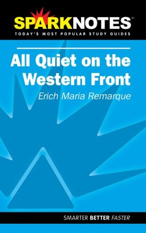 9781586633745: All Quiet on the Western Front (Sparknotes)
