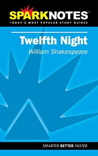 9781586633943: Spark Notes Twelfth Night