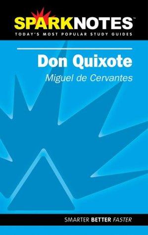 9781586633950: Sparknotes Don Quixote