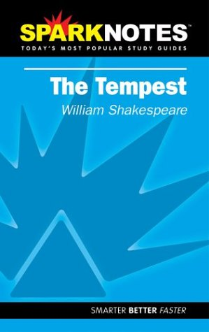 9781586634124: Spark Notes The Tempest