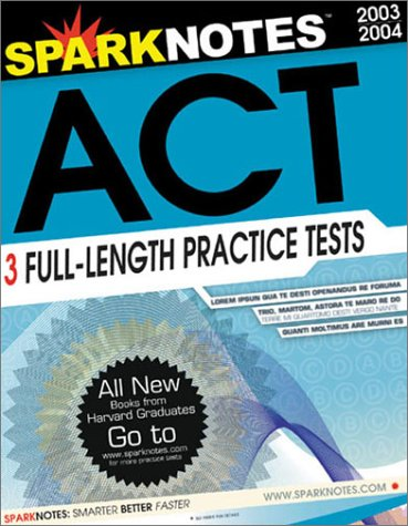 SparkNotes Guide to the ACT (SparkNotes Test Prep): SparkNotes