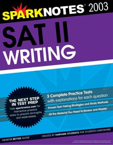 SAT II Writing (SparkNotes Test Prep): SparkNotes