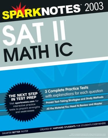 SAT II Math Ic (SparkNotes Test Prep): SparkNotes