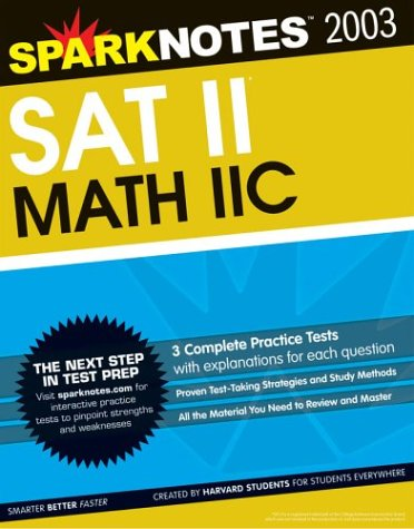 SAT II Math IIc (SparkNotes Test Prep): SparkNotes