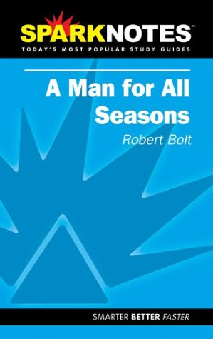 9781586634780: Man for All Seasons (Sparknotes Literature Guides)