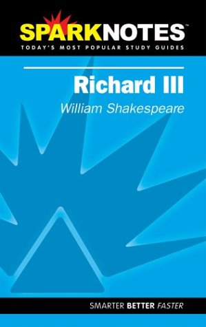 9781586634865: Richard III (SparkNotes)