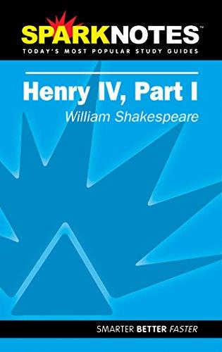 9781586635190: Spark Notes Henry IV, Part 1