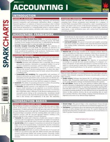 9781586636357: Accounting I (SparkCharts)