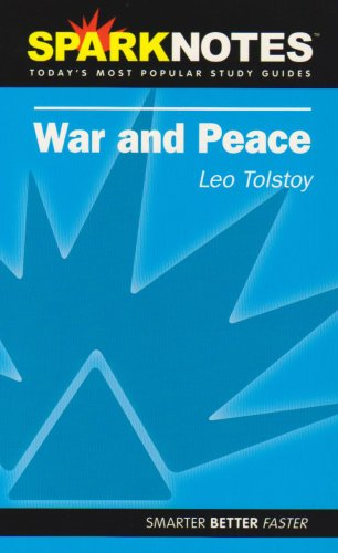 9781586638146: War and Peace (Spark Notes)