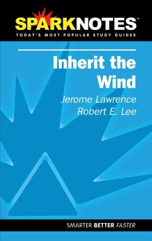9781586638290: Inherit the Wind (SparkNotes Literature Guide) (SparkNotes Literature Guide Series)