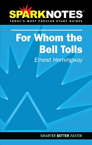 9781586638306: SparkNotes For Whom the Bell Tolls