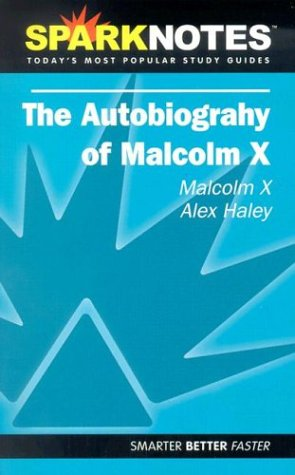 9781586638337: Spark Notes: Autobiography Malcolm X (Sparknotes)