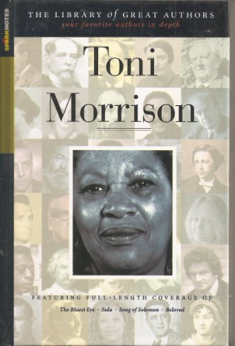 9781586638382: Toni Morrison (SparkNotes Library of Great Authors)