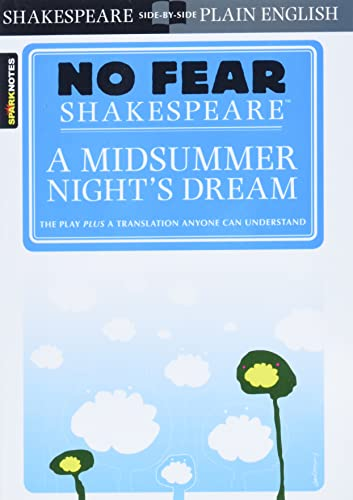 9781586638481: No Fear: Midsummer Night Dream (Sparknotes No Fear Shakespeare)
