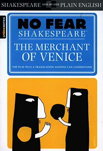 9781586638504: The Merchant of Venice (SparkNotes No Fear Shakespeare)