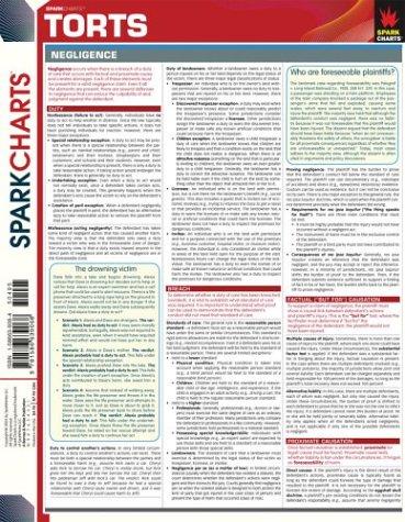 9781586639068: Torts (SparkCharts)