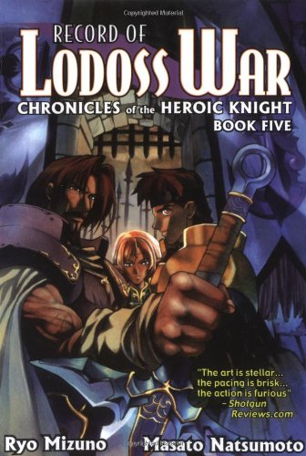 Record Of Lodoss War Chronicles Of The Heroic Knight Book 5 (Record of Lodoss War (Graphic Novels)) (1586648950) by Ryo Mizuno