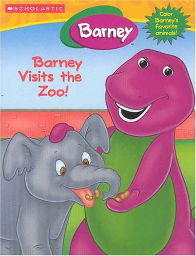 9781586683139: Barney Visits The Zoo