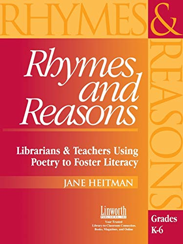 9781586830854: Rhymes and Reasons: Librarians & Teachers Using Poetry to Foster Literacy