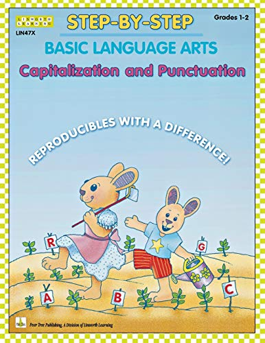 Step-by-Step Basic Language Arts: Capitalization and Punctuation Grades 1-2
