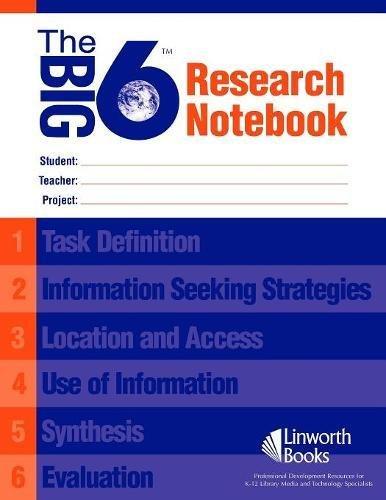 The Big6 Research Notebook (25 pack): Eisenberg, Michael B., Berkowitz, Robert E.