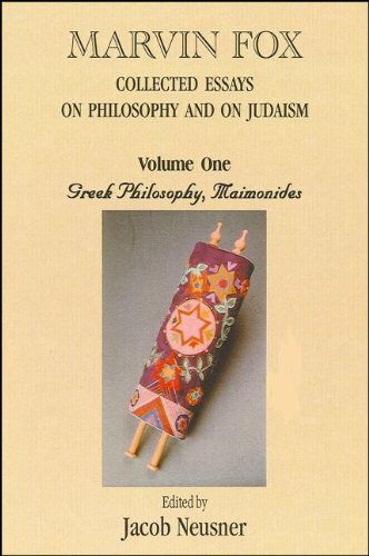 9781586841447: Collected Essays on Philosophy and Judaism, Vol. 1 (Academic Studies in the History of Judaism) (Academic Studies in the History of Judaism)
