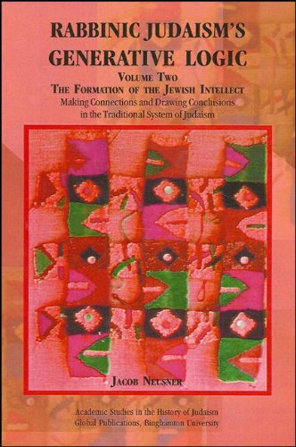 9781586841812: The Making of the Mind of Judaism (Rabbinic Judaism's Generative Logic, Vol. 1)